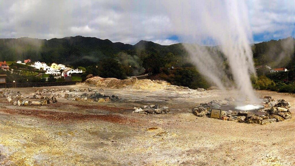 Furnas Crater Volcano & Hot Springs