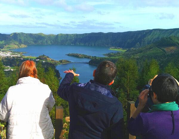 Sete Cidades – Blue & Green Crater Lakes